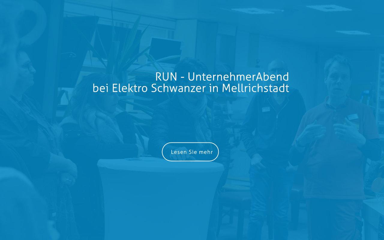 UnternehmerAbend bei Elektro Schwanzer
